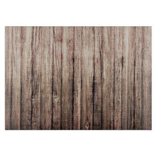 Rustic weathered wood grain print boards