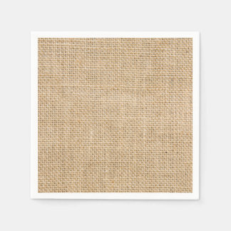 Rustic Wedding Burlap Trendy Country Weddings Disposable Napkins