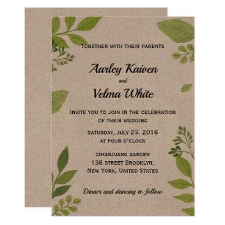 Rustic Wedding Invitations Vintage Wedding Theme