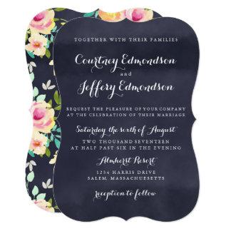 Rustic Wedding Invitiation Card