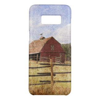 Rustic Western Country Farm Primitive Red Barn Case-Mate Samsung Galaxy S8 Case