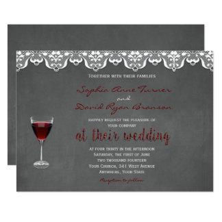 Rustic Winery Wedding Custom Invitation