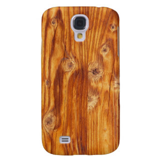 Rustic Wood Background - Samsung Galaxy S4 Case