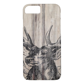 Rustic Wood | Deer iPhone 8/7 Case