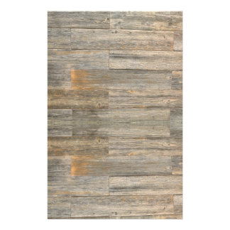 Rustic wood design stationery