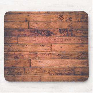 Rustic Wood Grain Mouse Pad