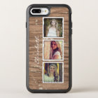 Rustic Wood Look Instagram Photo Collage OtterBox Symmetry iPhone 8 Plus/7 Plus Case