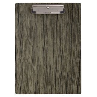 Rustic Wood Look Pattern Clipboard