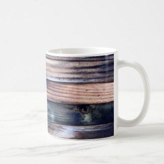 Rustic Wood Print Mug