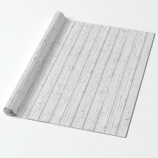 Rustic Wood Shabby White Barn Boards Pattern