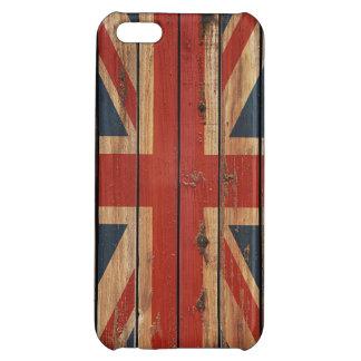 Rustic Wood United Kingdom Flag iPhone 5C Cover