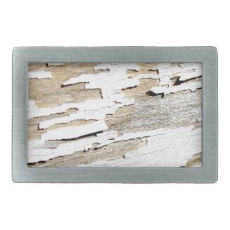 Rustic Wood Vintage Design Belt Buckle