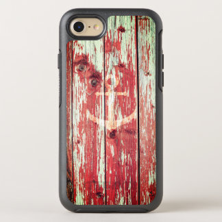 Rustic wooden anchor nautical OtterBox symmetry iPhone 7 case