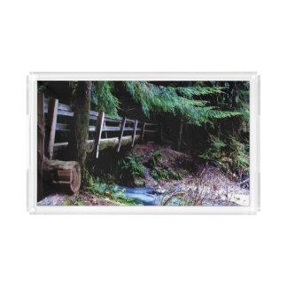 Rustic Wooden Bridge Olympic Park Perfume Tray
