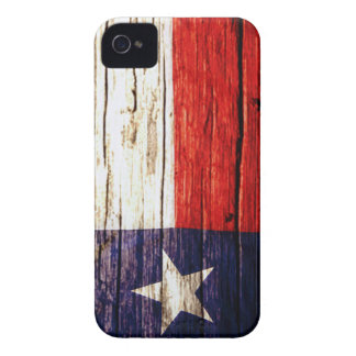 Rustic Wooden Texas Flag iPhone case