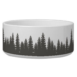 Rustic Woods Outdoors Forest Pet Bowl
