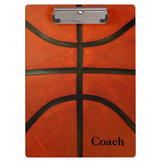 Rustic Worn Basketball Clipboards