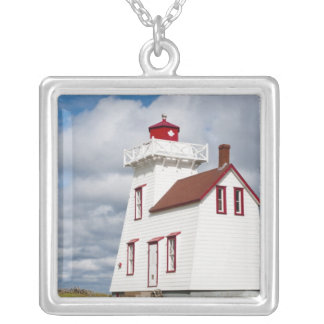 Rustico Harbour, Prince Edward Island. Silver Plated Necklace