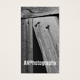Rusting Nail Photography Business card