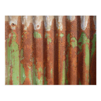 Rusting with Green Postcard