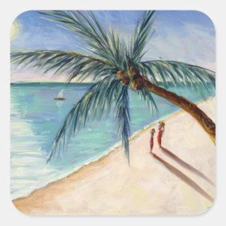 Rustling Palm 2004 Square Sticker