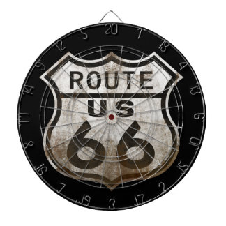 Rusty 66 dartboard