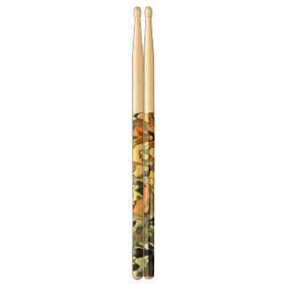 Rusty abstract drum sticks