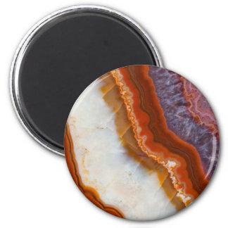 Rusty Amethyst Agate Magnet