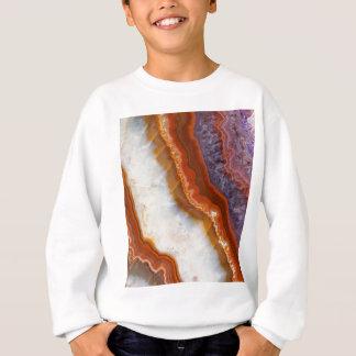 Rusty Amethyst Agate Sweatshirt