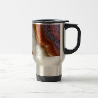 Rusty Amethyst Agate Travel Mug