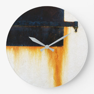 Rusty Bar Wall Large Clock