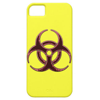 Rusty Biohazard Symbol iPhone 5 Covers