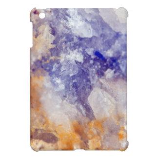 Rusty Blue Quartz Crystal iPad Mini Case