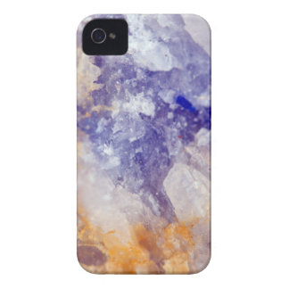 Rusty Blue Quartz Crystal iPhone 4 Cover