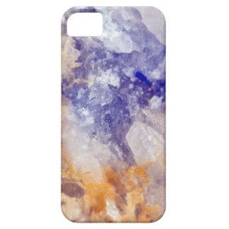 Rusty Blue Quartz Crystal iPhone 5 Cover