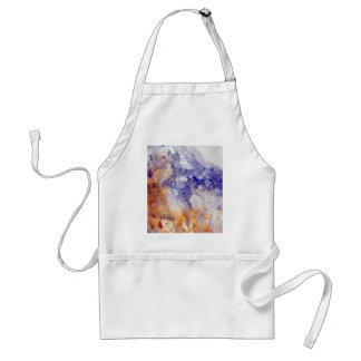 Rusty Blue Quartz Crystal Standard Apron
