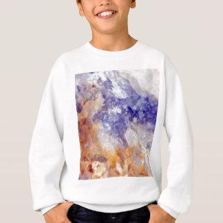 Rusty Blue Quartz Crystal Sweatshirt