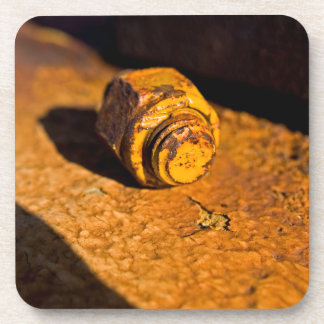 Rusty Bolt & Nut Coasters