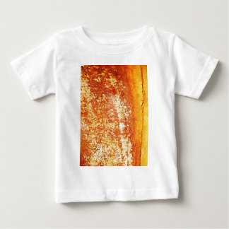 rusty brown art burn smoke Abstract Antique Junk S Baby T-Shirt