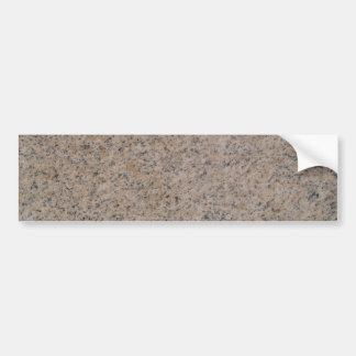Rusty Brown Marble Background Bumper Sticker