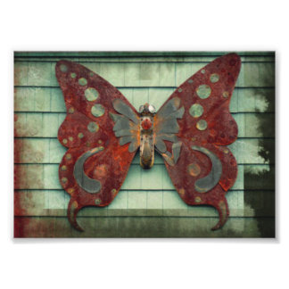 Rusty Butterfly Photograph