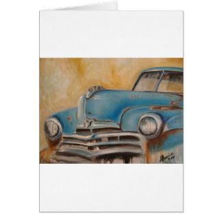 Rusty Card
