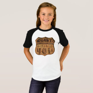Rusty Coast Highway 101 Design T-Shirt