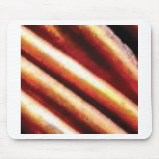 rusty copper tubes mouse pad