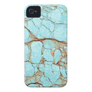 Rusty Cracked Turquoise iPhone 4 Case