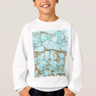 Rusty Cracked Turquoise Sweatshirt