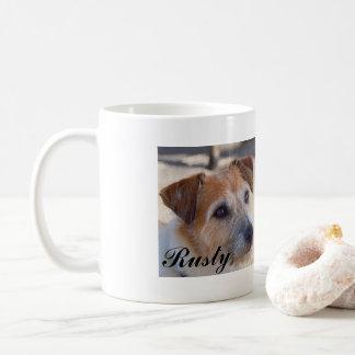 """""""Rusty"""" cute dog coffee mug"""