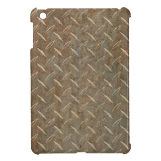 Rusty Diamond Plate Cover For The iPad Mini