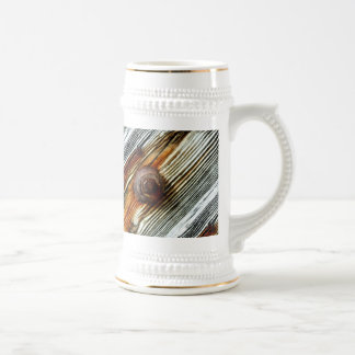 rusty driftwood boards beer stein