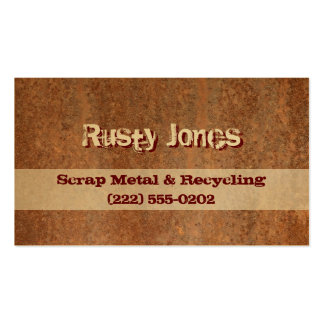 Rusty Edge Pack Of Standard Business Cards